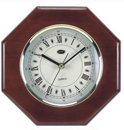Reloj Mod En Madera R110m Segundero De Luft Hexagonal Base Con Continuo UpLzMVqSG