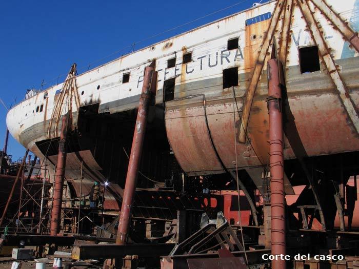 """Renacer del Motovelero Oceanográfico """"Dr. Bernardo Houssay"""" Velero-houssay-pna-3"""